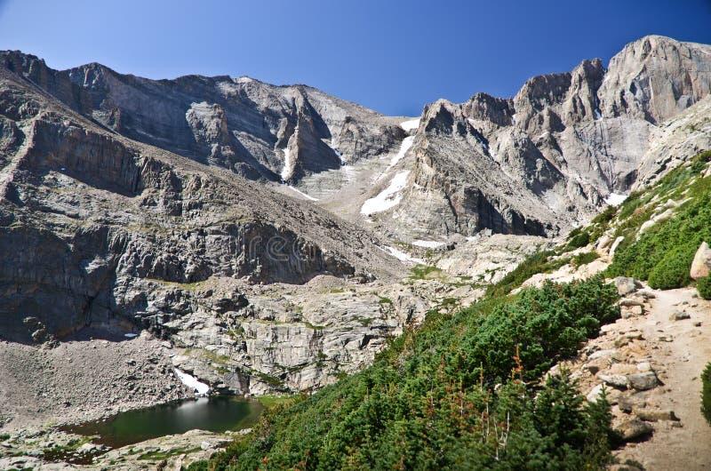 Parque nacional de la montaña rocosa, Colorado foto de archivo