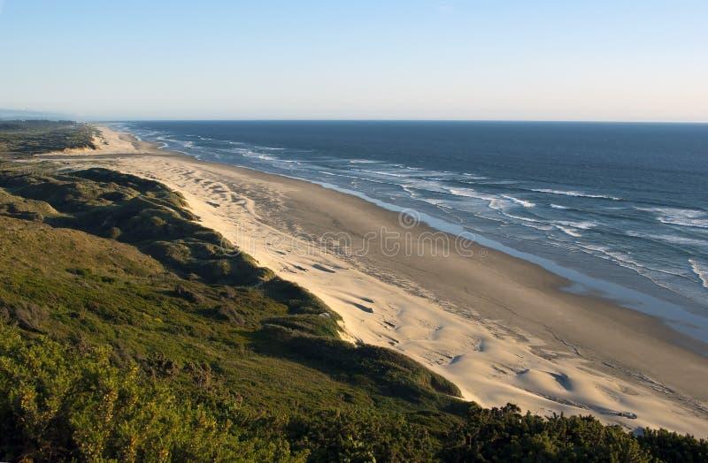 Parque nacional de la reconstrucción de las dunas de Oregon fotos de archivo