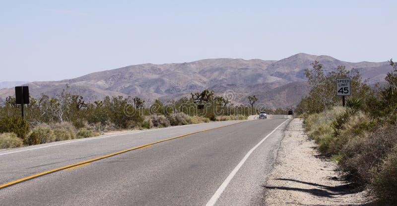 Parque nacional de la yuca, California, Estados Unidos fotos de archivo libres de regalías