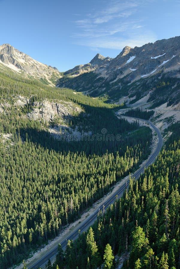 Parque nacional de las cascadas del norte foto de archivo libre de regalías