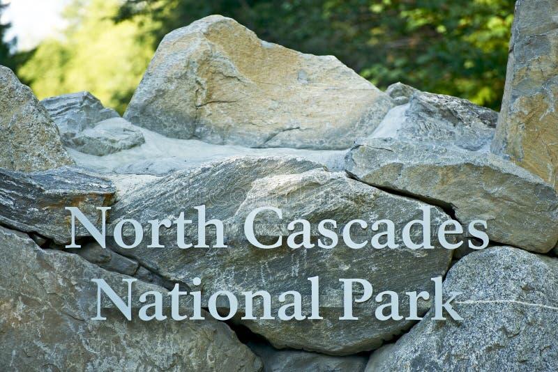 Parque nacional de las cascadas del norte fotos de archivo libres de regalías