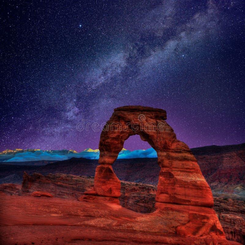 Parque nacional de los arcos en Moab Utah los E.E.U.U. fotografía de archivo libre de regalías