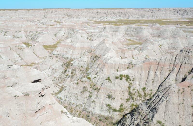 Parque nacional de los Badlands fotografía de archivo libre de regalías