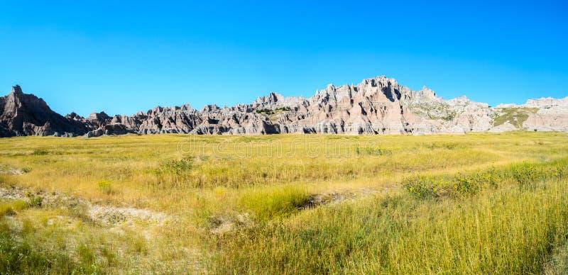 Parque nacional de los Badlands fotografía de archivo