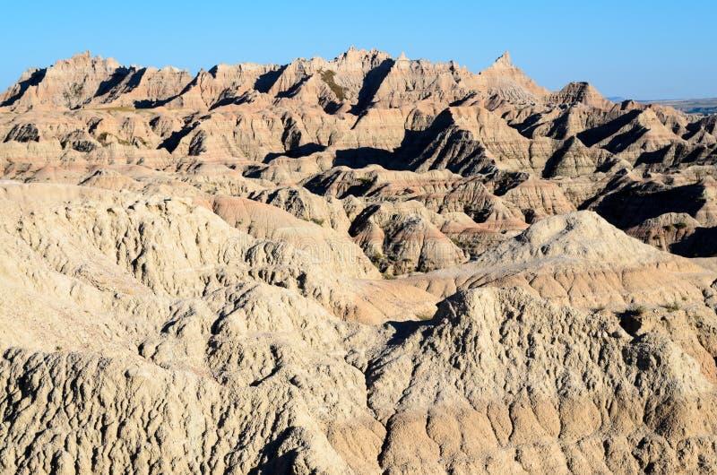 Parque nacional de los Badlands imágenes de archivo libres de regalías