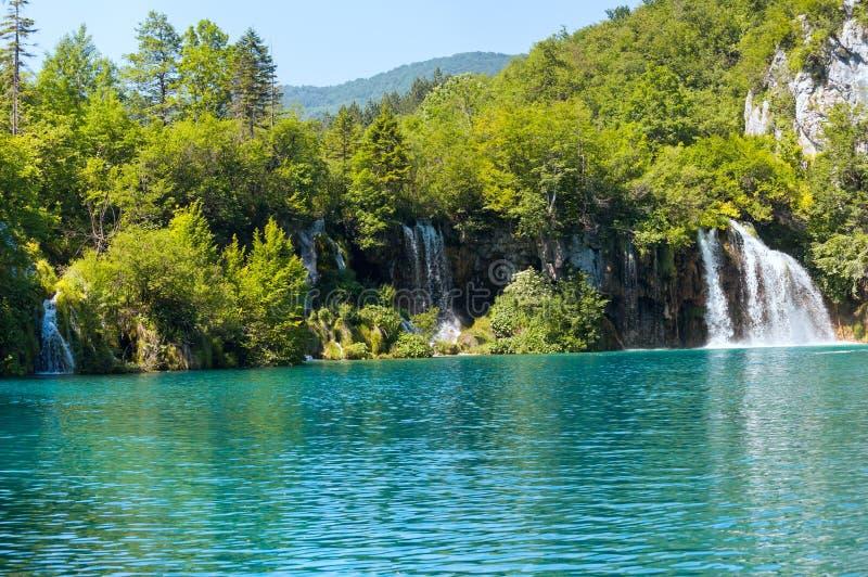 Parque nacional de los lagos Plitvice (Croacia) imágenes de archivo libres de regalías