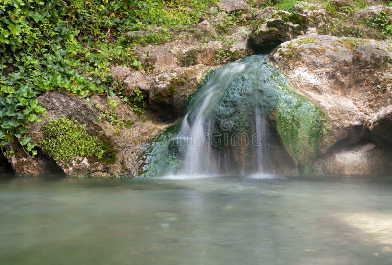 Parque nacional de los resortes calientes imágenes de archivo libres de regalías