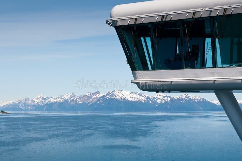 Parque nacional de louro de geleira em Alaska fotos de stock royalty free