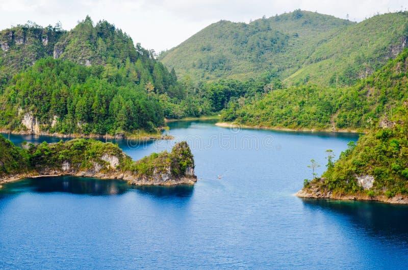 Parque nacional de Montebello, estado de Chiapas, México, el 25 de mayo imagen de archivo libre de regalías