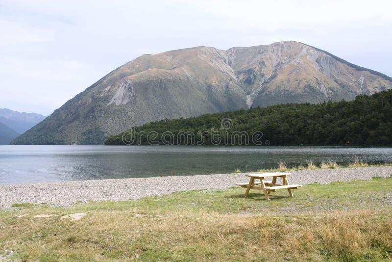 Parque nacional de Nova Zelândia imagem de stock royalty free