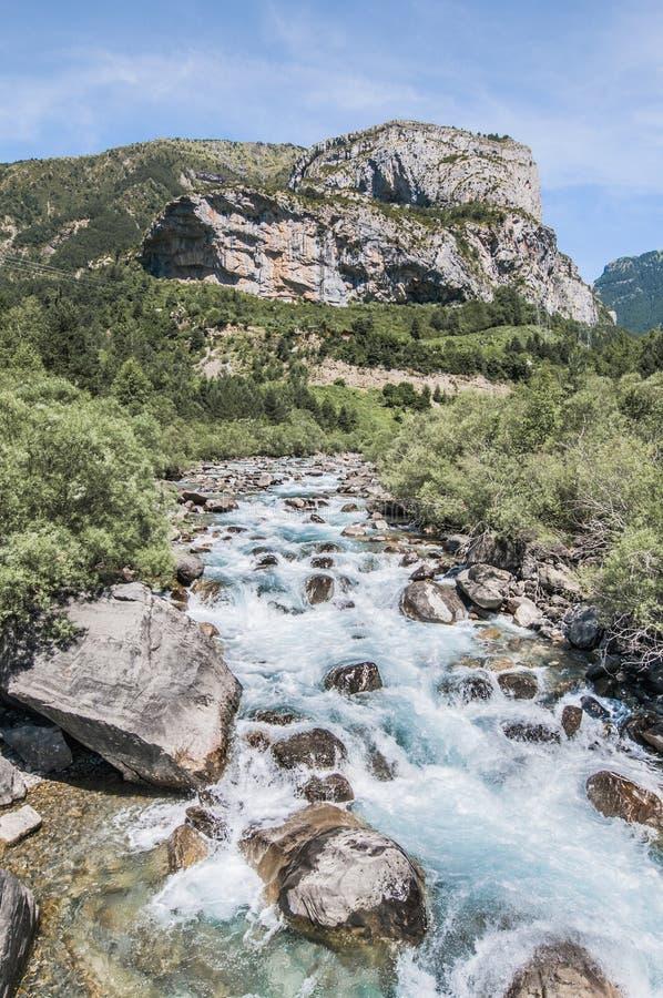 Parque nacional de Ordesa y Monte Perdido, Spain fotografia de stock royalty free