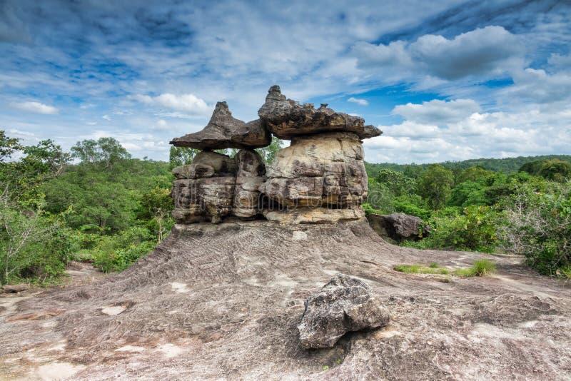 Parque nacional de Phu Pha Thoep en Tailandia imagen de archivo