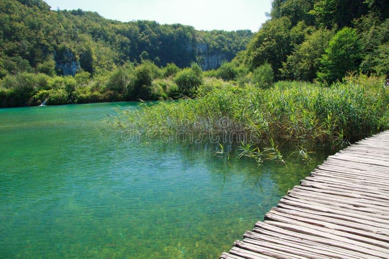 Parque nacional de Plitvice imagenes de archivo