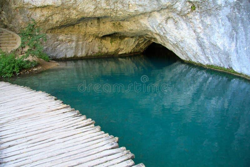 Parque nacional de Plitvice imagen de archivo libre de regalías