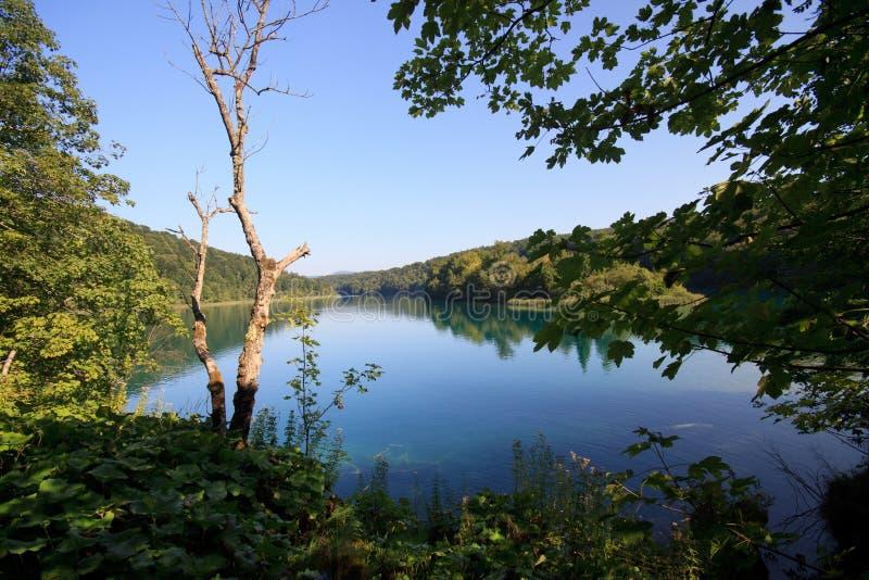 Parque nacional de Plitvice foto de archivo libre de regalías