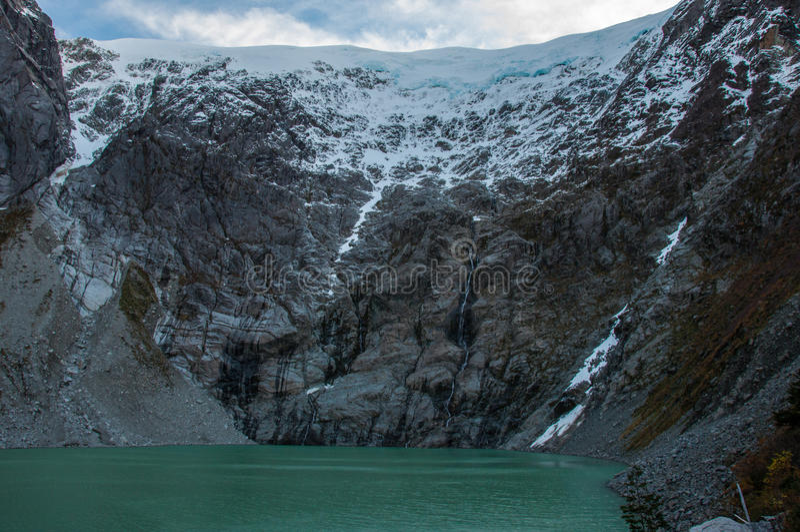 Parque Nacional de Queulat, Carretera austral, carretera 7, Chile fotos de archivo