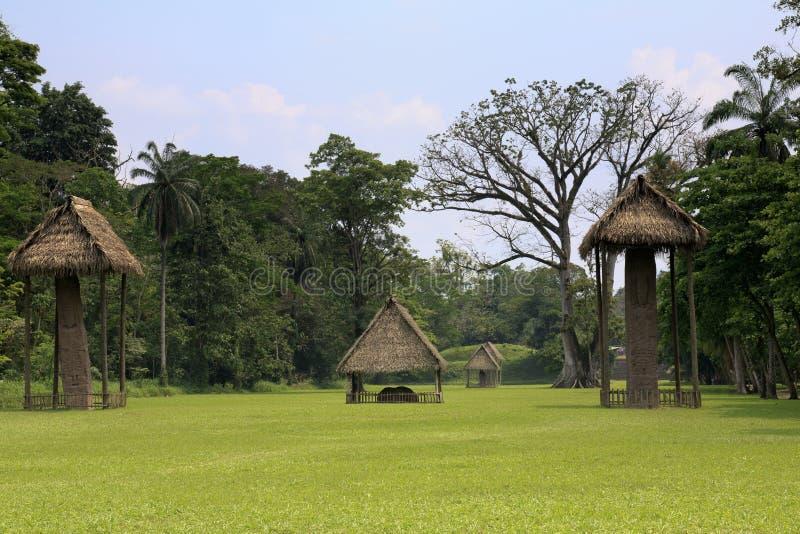 Parque nacional de Quirigua em Guatemala imagens de stock royalty free