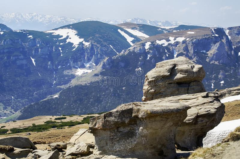 Parque nacional de Rumania Bucegi imágenes de archivo libres de regalías