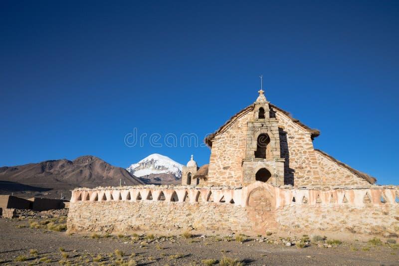 Parque nacional de Sajama, Bolívia fotos de stock