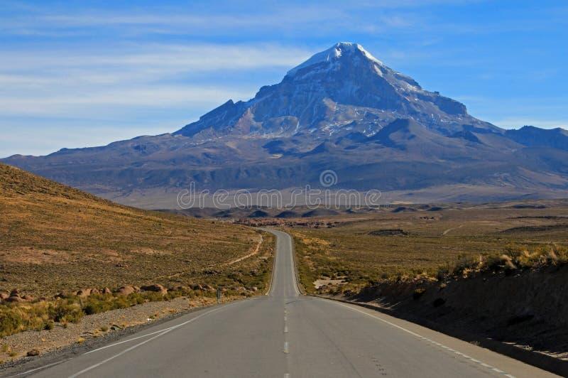 Parque nacional de Sajama, Bolívia fotografia de stock
