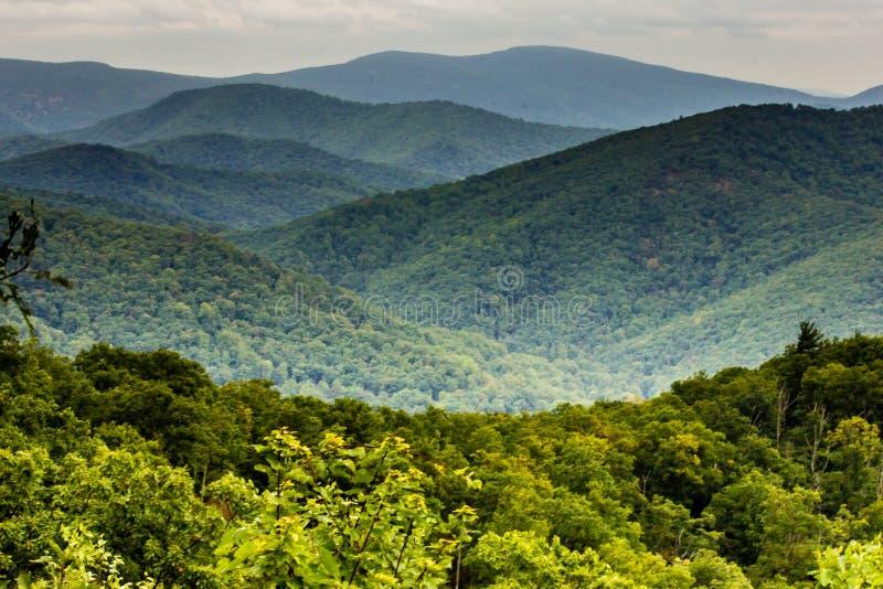 Parque nacional de Shenandoah, Virgínia EUA foto de stock