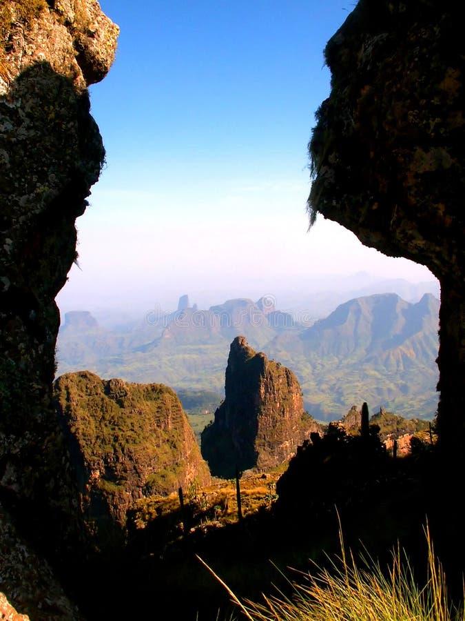 Parque nacional de Simien imagens de stock