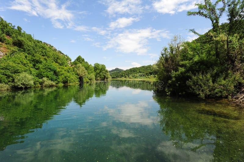 Parque nacional de Skadar del lago imagen de archivo libre de regalías