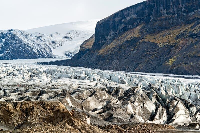 Parque nacional de Skaftafell Vatnajokull, Islandia imágenes de archivo libres de regalías