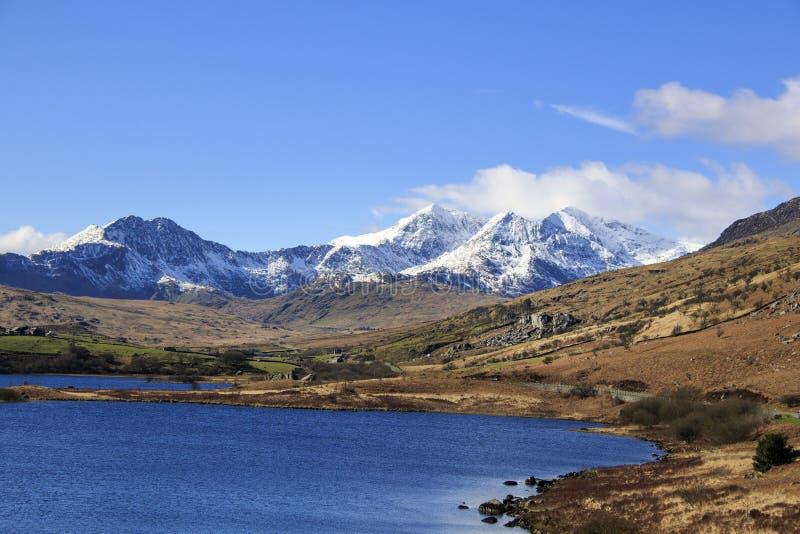 Parque nacional de Snowdonia, foto de stock royalty free