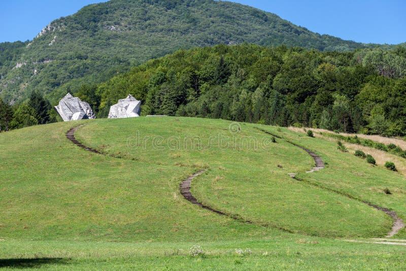 Parque nacional de Sutjeska imagem de stock