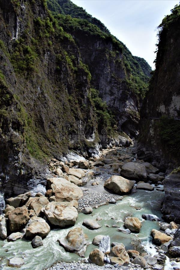 Parque nacional de Taroko, el condado de Hualien, Taiwán imagen de archivo libre de regalías