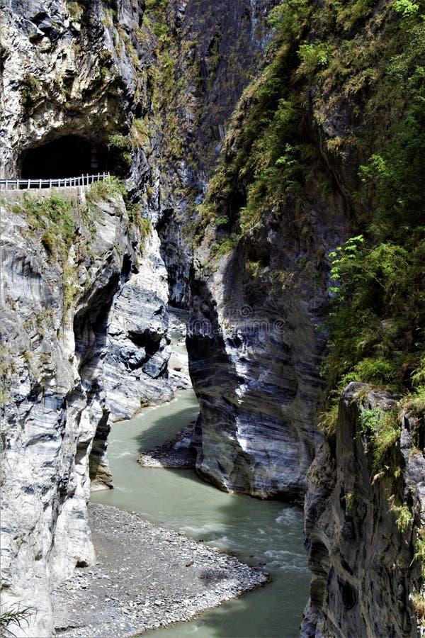 Parque nacional de Taroko, el condado de Hualien, Taiwán foto de archivo