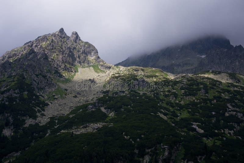 Parque nacional de Tatra, Eslováquia imagem de stock royalty free