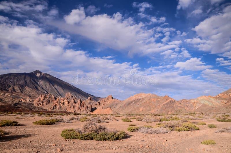 Parque nacional de Teide imagen de archivo libre de regalías