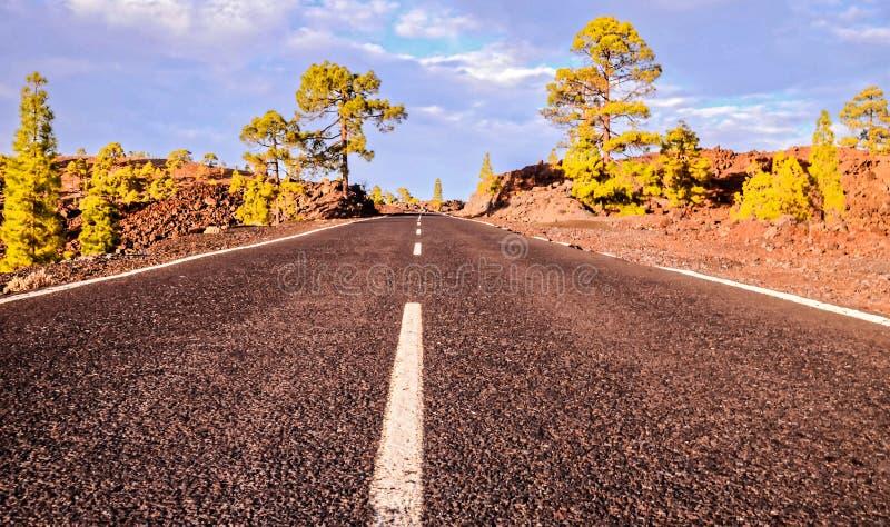 Parque nacional de Teide imagenes de archivo