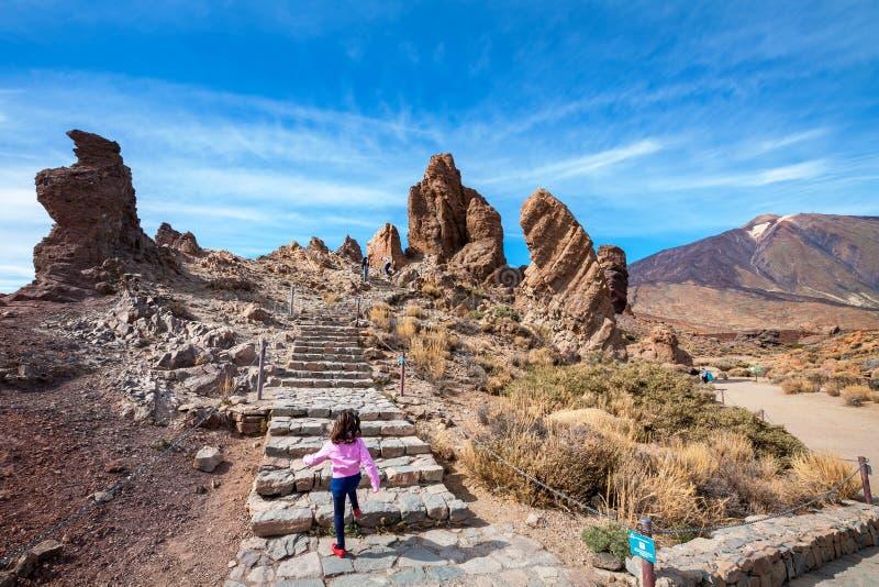 Parque nacional de Teide Tenerife, Espanha imagem de stock royalty free