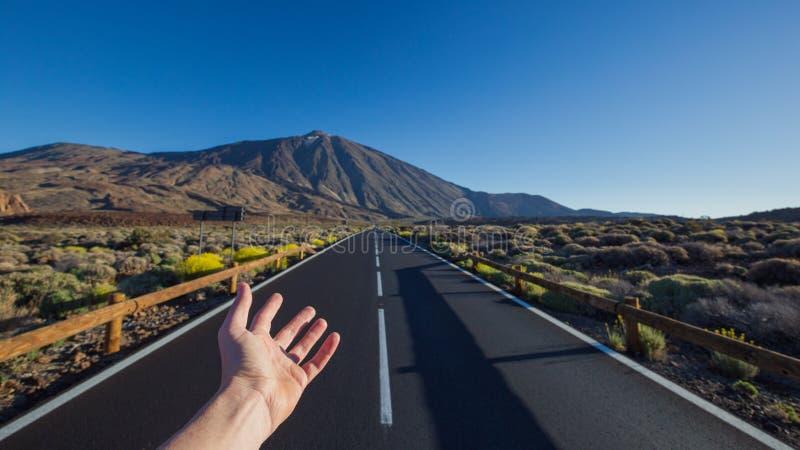Parque nacional de Teide, Tenerife, islas Canarias, España imagen de archivo libre de regalías