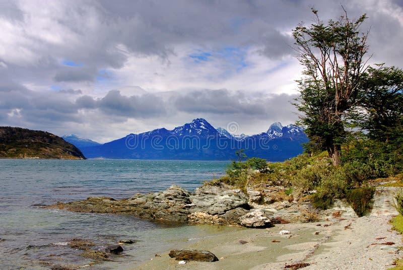 Parque nacional de Tierra del Fuego fotos de stock