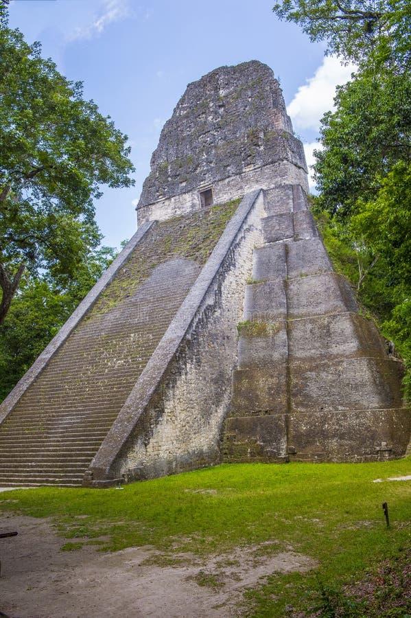 Parque nacional de Tikal foto de archivo