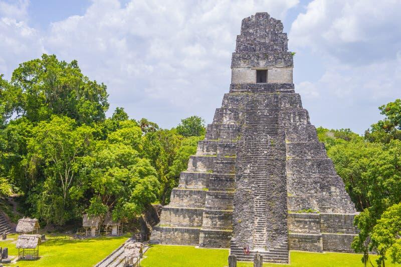 Parque nacional de Tikal imágenes de archivo libres de regalías