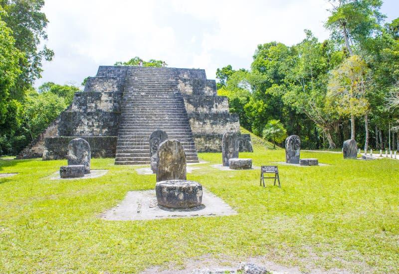 Parque nacional de Tikal imagen de archivo libre de regalías