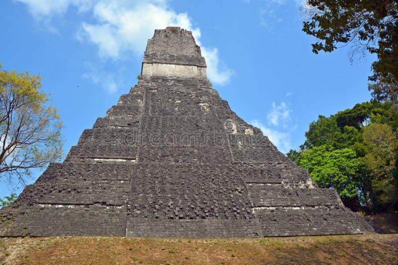 Parque nacional de Tikal fotografía de archivo