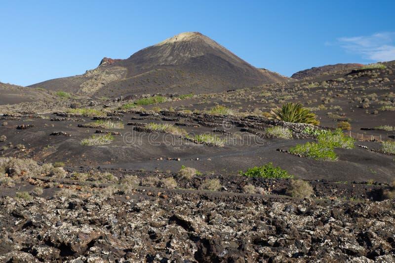 Parque nacional de Timanfaya, Lanzarote fotos de archivo libres de regalías