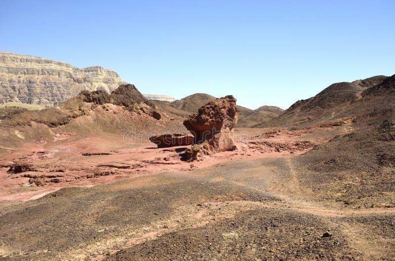 Parque nacional de Timna imagens de stock