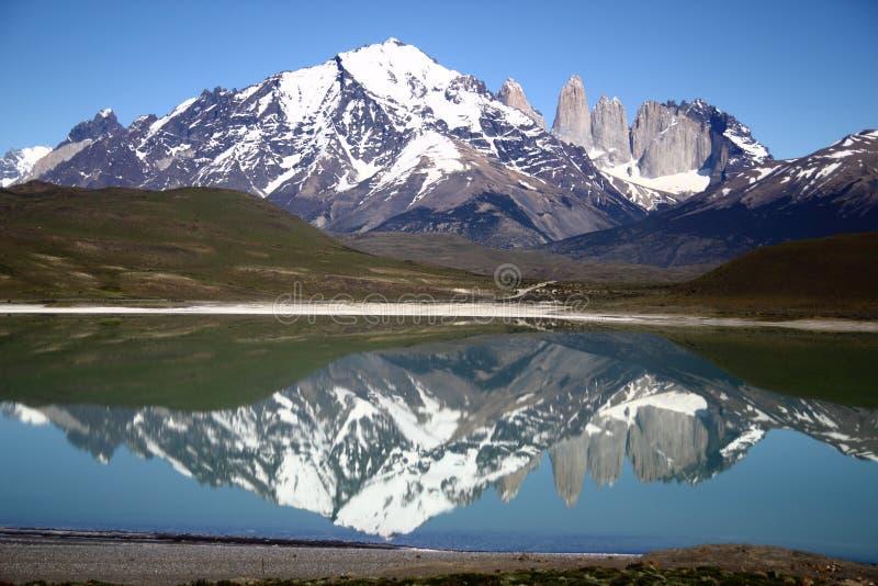 Parque nacional de Torres del Paine, Patagonia, Chile fotografía de archivo