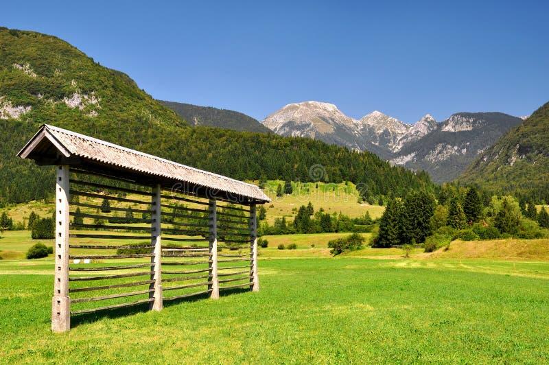 Parque nacional de Triglav - alpes julianos, Slovenia imagens de stock royalty free