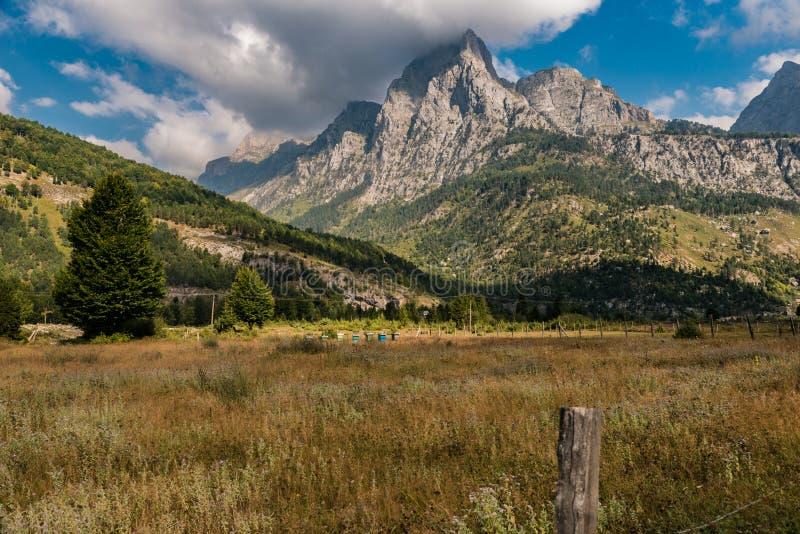 Parque nacional de Valbona, Albania del norte fotos de archivo libres de regalías
