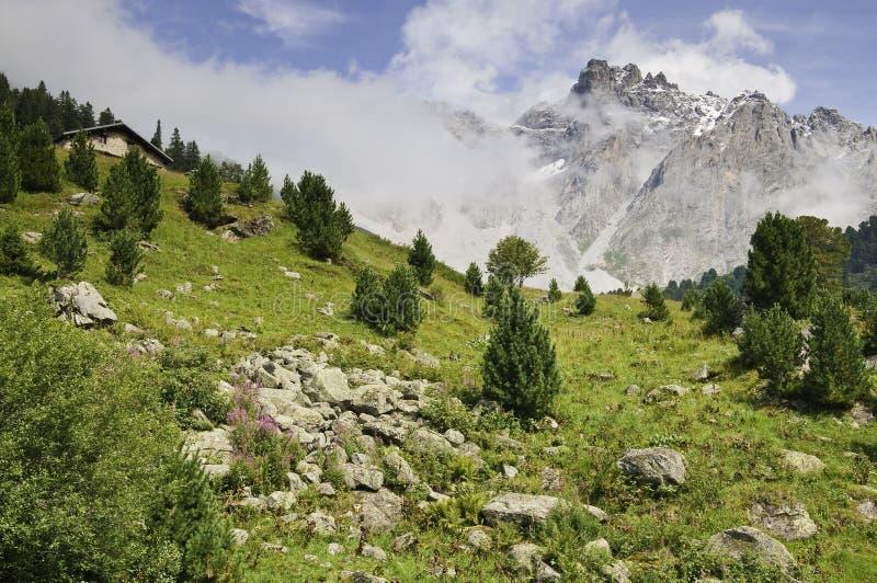Parque nacional de Vanoise fotos de stock