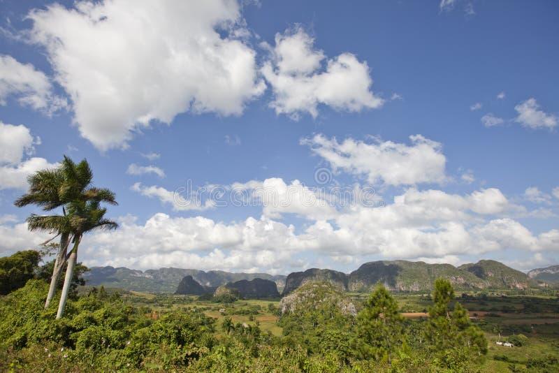 Parque nacional de Vinales imagens de stock royalty free