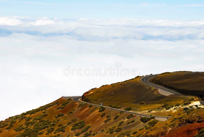 Parque nacional de Volcano Pico del Teide El Teide, Tenerife, Ilhas Canárias, Espanha fotografia de stock